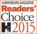 Harrisburg Magazine 2015 Readers' Choice Divorce Attorney & Family Law Attorney