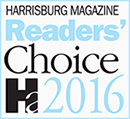 Harrisburg Magazine 2016 Readers' Choice Divorce Attorney